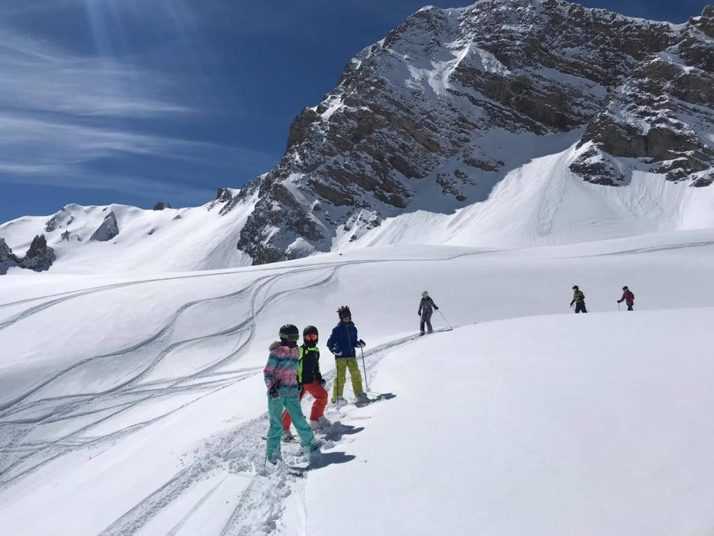 Epic skiing in the 3 Valleys