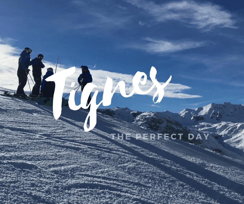 A Perfect Day in Tignes