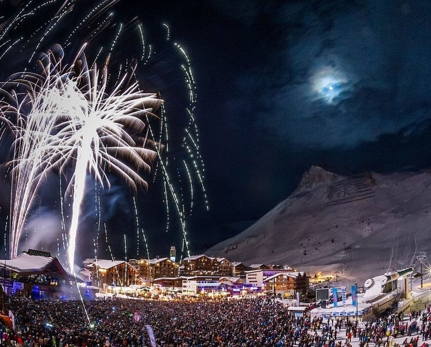 Fireworks Val d'Isere
