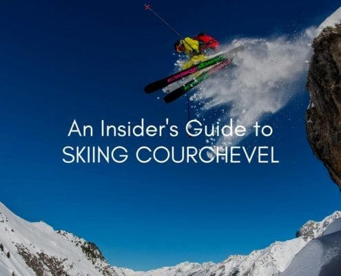 Skiing Courchevel