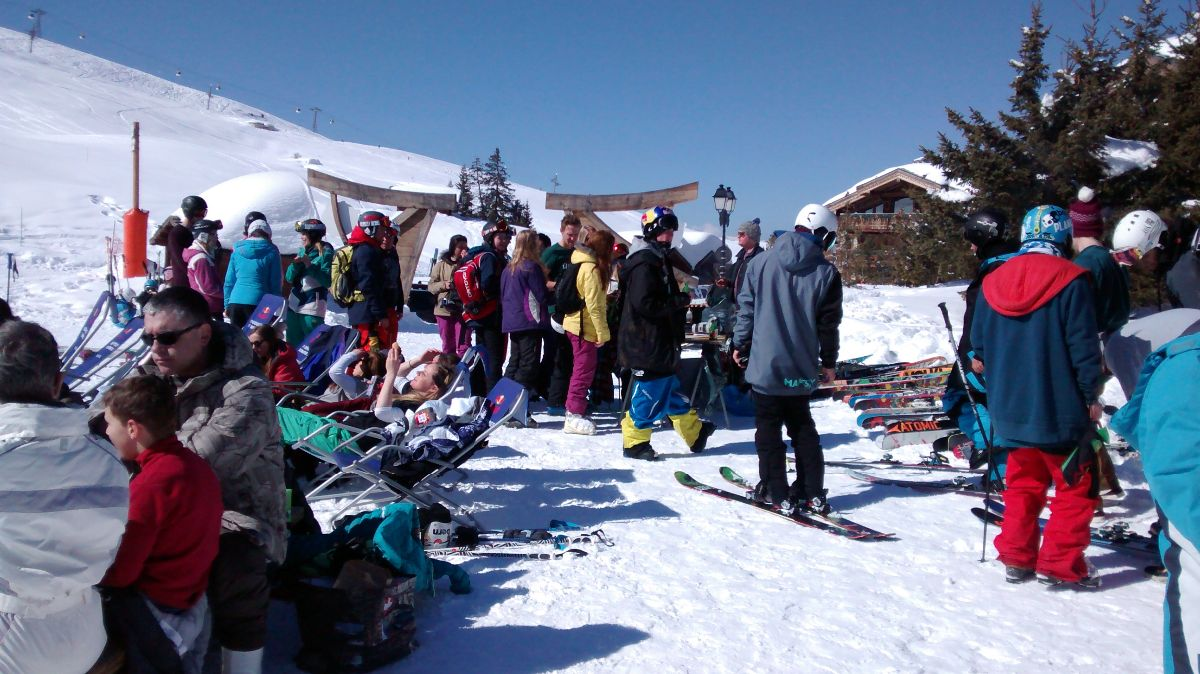 Spring BBQ in Courchevel - le ski staff