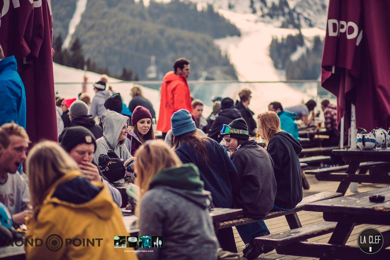 meribel apres ski the ronnie rond point